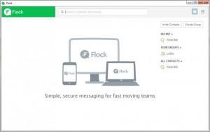 Enlarge Flock Screenshot