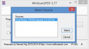Enlarge WinScan2PDF Screenshot