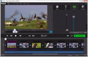 Enlarge Magix Fastcut Screenshot