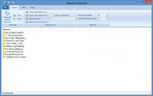 Enlarge PowerCryptor Password Generator Screenshot