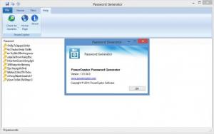 Enlarge PowerCryptor Password Generator Screenshot
