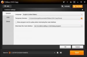 Enlarge TDMore DVD Copy Screenshot