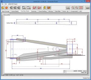 Enlarge rattleCAD Screenshot