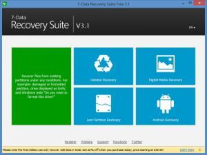 Enlarge 7-Data Recovery Suite Screenshot