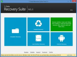 Enlarge 7-Data Recovery Suite Screenshot