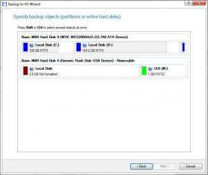 Enlarge Paragon Backup & Recovery Free Screenshot