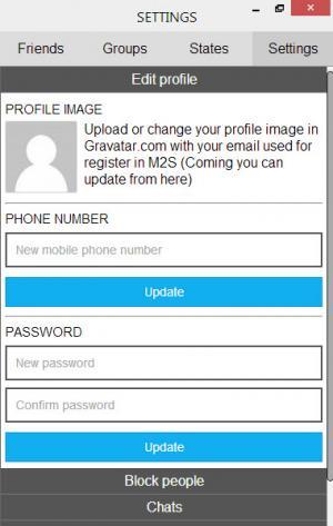 Enlarge M2S Screenshot