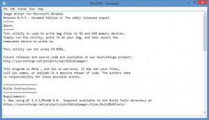 Enlarge Win32 Disk Imager Screenshot