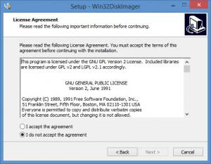 Enlarge Win32 Disk Imager Screenshot