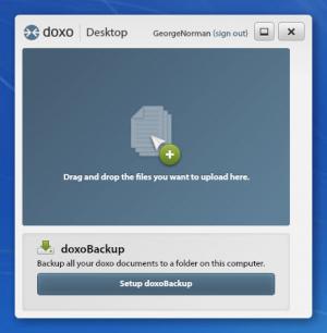 Enlarge doxo Desktop Screenshot