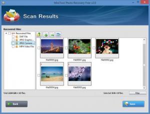 Enlarge MiniTool Photo Recovery Screenshot