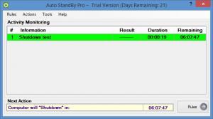 Enlarge AutoStandByPro Screenshot