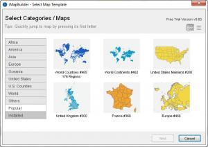 Enlarge iMapBuilder Screenshot