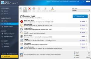 Enlarge Ashampoo HDD Control Screenshot