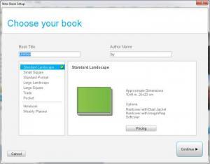 Enlarge BookSmart Screenshot