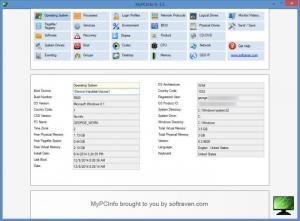 Enlarge MyPCInfo Screenshot