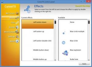 Enlarge CursorFX Screenshot