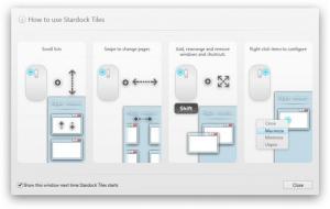 Enlarge Tiles Screenshot