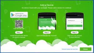 Enlarge AirDroid Screenshot