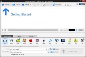 Enlarge Program4Pc Audio Converter Pro Screenshot