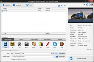 Enlarge Program4Pc Video Converter Pro Screenshot