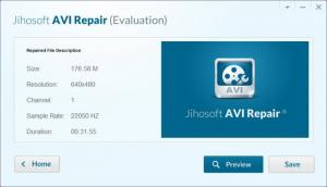 Enlarge Jihosoft AVI Repair Screenshot