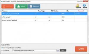 Enlarge Jihosoft PDF Password Remover Screenshot