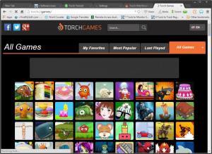 Enlarge Torch Browser Screenshot