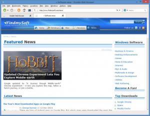 Enlarge Dooble Screenshot