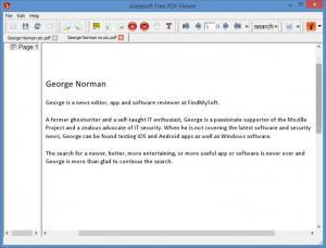 Enlarge Aiseesoft Free PDF Viewer Screenshot