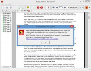Enlarge Aiseesoft Free PDF Viewer Screenshot
