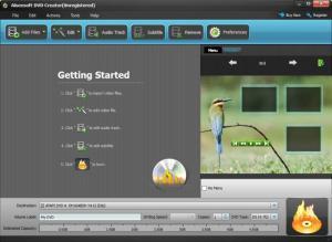 Enlarge Aiseesoft DVD Creator Screenshot
