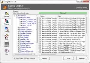 Enlarge Eusing Cleaner Screenshot