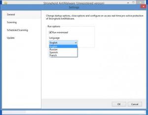 Enlarge Stronghold AntiMalware Screenshot