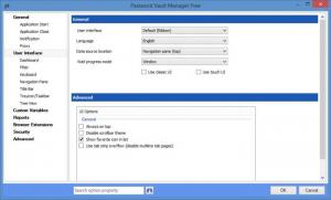 Enlarge Password Vault Manager Free Edition Screenshot