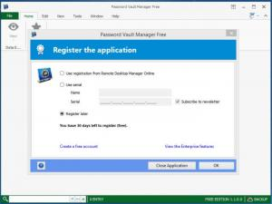 Enlarge Password Vault Manager Free Edition Screenshot