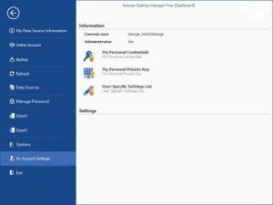 Enlarge Remote Desktop Manager Free Edition Screenshot