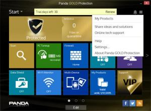 Enlarge Panda Gold Protection Screenshot
