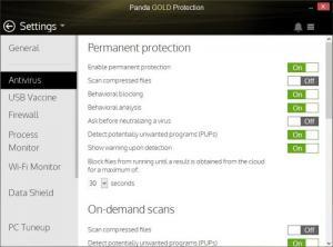 Enlarge Panda Gold Protection Screenshot