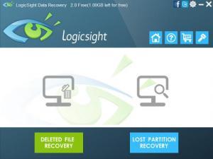 Enlarge LogicSight Data Recovery Screenshot