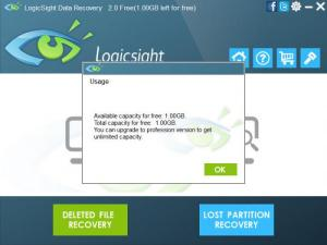 Enlarge LogicSight Data Recovery Screenshot