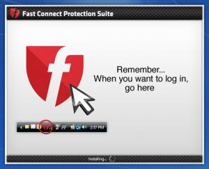 Enlarge Fast Connect Screenshot
