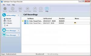Enlarge TalkHelper Free Skype Video Recorder Screenshot