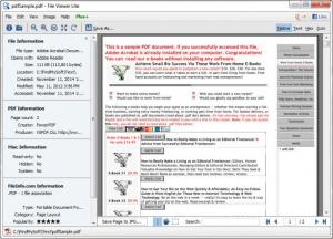Enlarge File Viewer Lite Screenshot