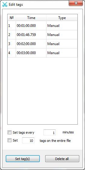 Enlarge Free Audio Editor Screenshot