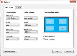 Enlarge Free Video Call Recorder for Skype Screenshot
