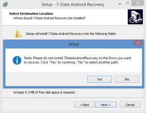 Enlarge 7-Data Android Recovery Screenshot