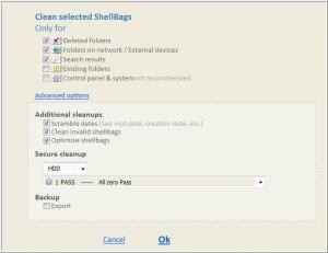 Enlarge Shellbag Analyzer & Cleaner  Screenshot