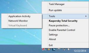 Enlarge Kaspersky Total Security Screenshot