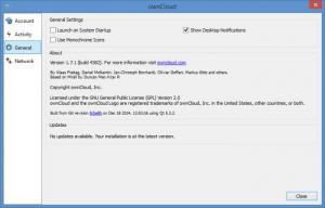 Enlarge ownCloud Screenshot